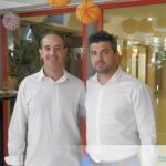 Esteban de Olympia con nuestro director comercial de Torremolinos, Miguel