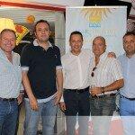 Nos acompañó también el director de Marconfort Griego Hotel, Vicente Rojas