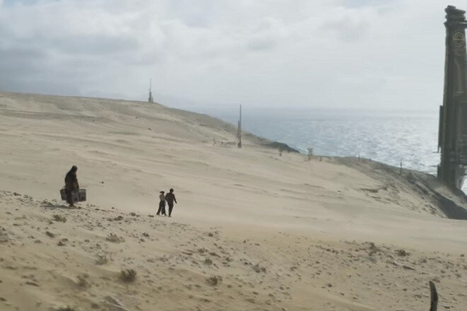 Rodaje de la película Han Solo en Fuenteventura, Canarias