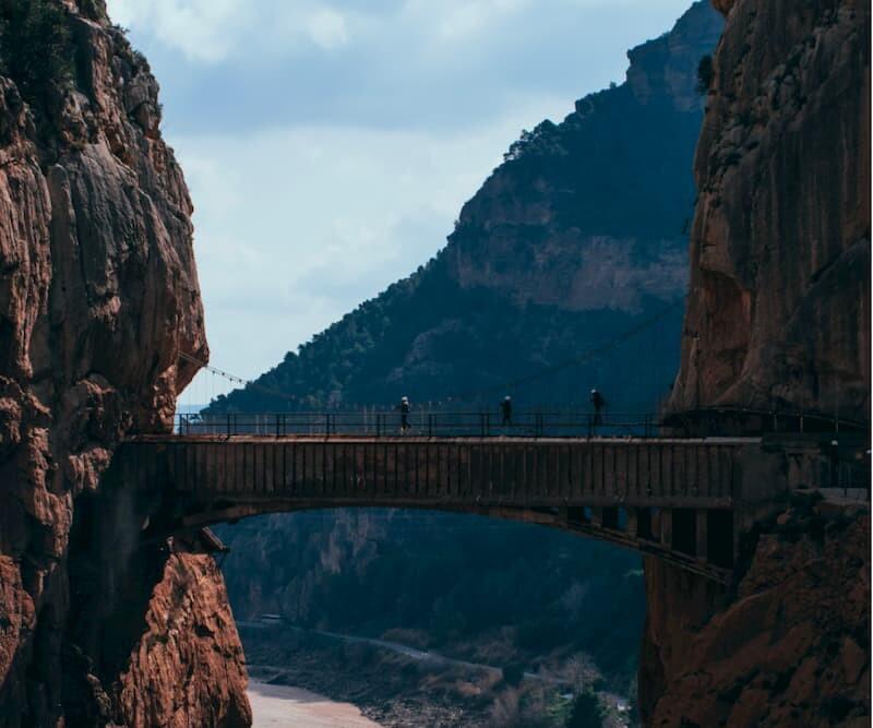 Media Pensión-Turismo en la montaña de Torremolinos-Caminito del Rey-Desfiladero de los Gaitanes
